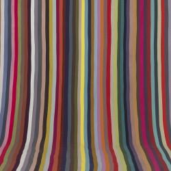 Observatoire du BHV Paris, installation textile 54 couleurs