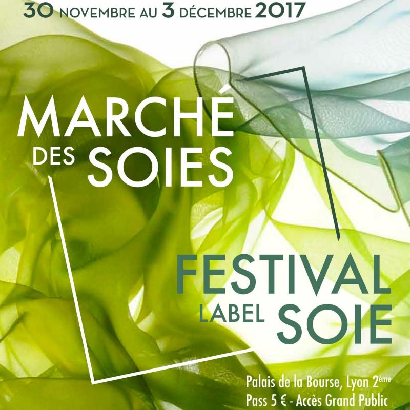 Sophie Guyot expose au marché des soies de lyon 2017