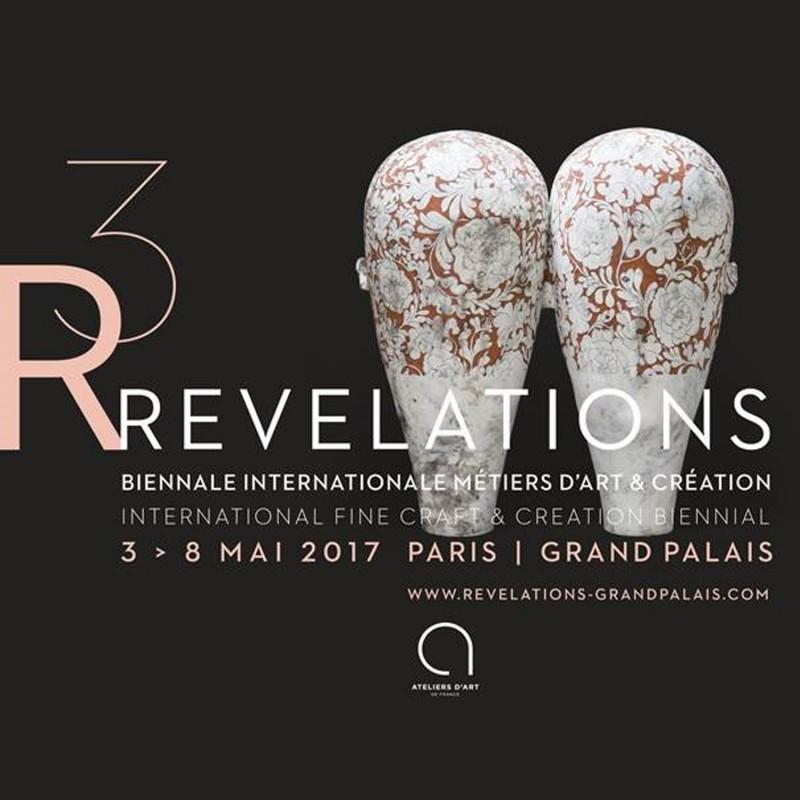 Sophie Guyot participe à Révélation R3, Biennale internationale métiers d'art & création.