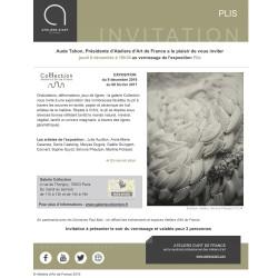 PLIS à la Galerie Collection d'Ateliers d'Art de France