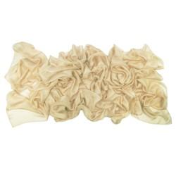 étole 250 unie en toile fine de soie une création sophie guyot soieries, fabriqué à Lyon France