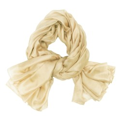 stole 250 plain in fine silk canvas, a sophie guyot silks creation, made in Lyon France